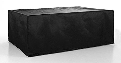 Gartenmöbel Abdeckplane für Tische 88 x 75 x 210 schwarz Hochwertiger Wetterschutz günstig