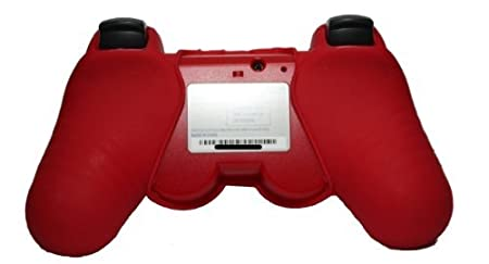 PS3 Controller Silicon Sleeve Protector - Red
