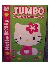 Hello Kitty Jumbo Coloring and Activity Book - 1