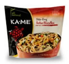 Ka Me, Noodle Strfry Soba, 14.2 OZ (Pack of 6)