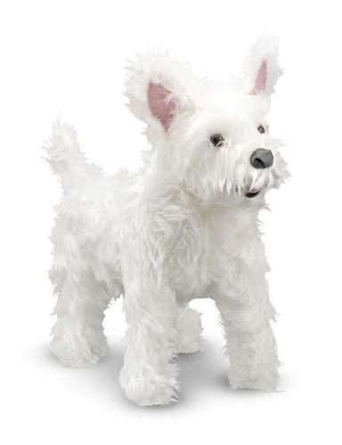 Melissa & Doug West Highland Terrier Plush