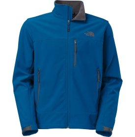 The North Face Apex Bionic Soft Shell Jacket - Men's-Snorkel Blue/Snorkel Blue-M by The North Face