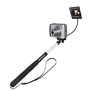 "Polaroid Camera Extender Self Portrait Handheld Monopod With Mirror (Extends to 37"")"