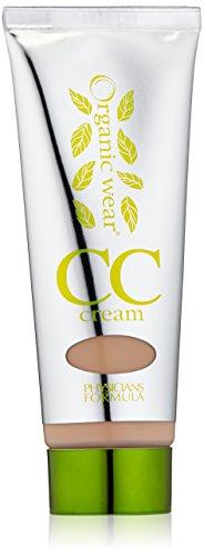 Physicians Formula Organic Wear 100% Natural Origin CC Cream, Light/Medium, 1.2 Fluid Ounces