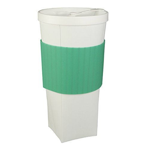 Fofocup Collapsible Travel To-Go Tumbler Cup - Lightweight, Reusable, Foldable, 20 Oz