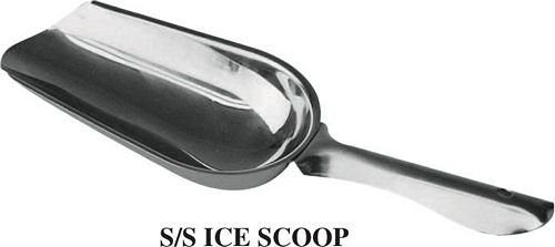 4 Ounce Stainless Steel Ice Scoop