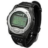 VibraLite 3 Vibrating Watch – Black & Gray Band