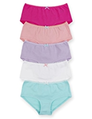 5 Pack Cotton Rich Assorted Shorts