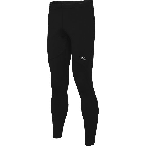 Mizuno Mizuno Running Men's Breath Thermo Layered Tight (Black, X-Large)