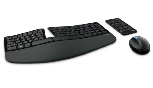 Microsoft Sculpt Ergonomic Desktop - Ensemble clavier AZERTY et souris sans fil