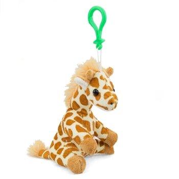 Stuffed Giraffe Clip Toy Keychain By Wild Life Artist