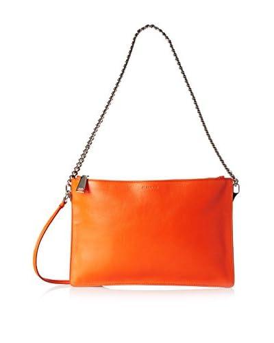 Jil Sander Women's Leather Shoulder Bag, Orange