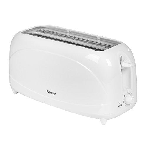 ELGENTO 4-Slice Toaster, White