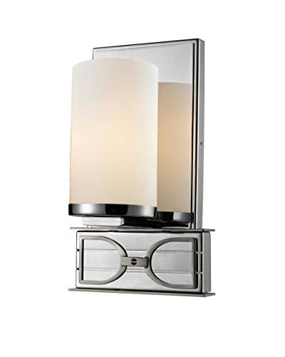 Artistic Lighting LED Bathbar, Polished Chrome/Brushed Nickel