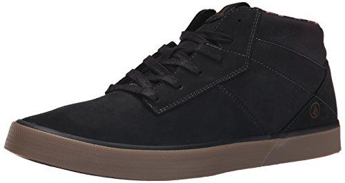 Volcom Grimm Mid 2 Shoe, Sneaker alta uomo, Nero (Schwarz (New Black)), 44.5