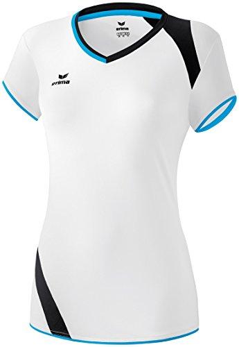 ERIMA Frauen Granada Tank Top Damen Volleyball weiß/curacao/schwarz, Größe: 46, Frauen
