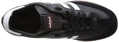 adidas Samba Unisex-Erwachsene Sneakers, Schwarz (Black/RunWhite), 42 2/3 EU -