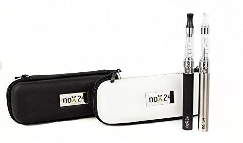 E-Zigarette eGo-T – Kompletter Einsteiger-Set / Atomizer mit Etui – Verschiedene Farben – Original: Nox24 …