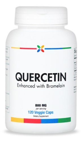 Quercetin Capsules 800 Mg With 200 Mg Of Bromelain - Gluten & Soy Free | 120 Veg Caps. Made In Usa (6 Pack ($16.95 Per Bottle))