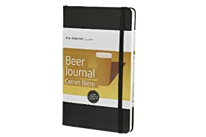 Moleskine Moleskine Passion Journal - Beer, Large, Hard Cover - Black