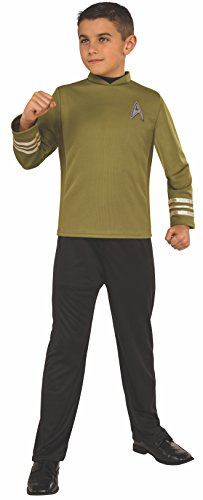 Rubie's Costume Kids Star Trek: Beyond Captain Kirk Costume, Large