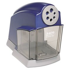 ** School Electric Pencil Sharpener, Blue/Gray **