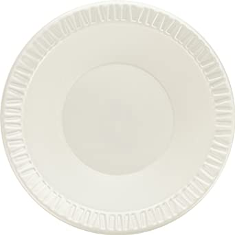 Dart 12BWWQ 10 - 12-Ounce Quiet Classic White Non-Laminated Foam Bowl 125-Pack (Case of 8)