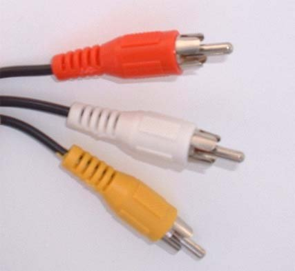 CablesToBuy™ 5 Ft( 1.5 m ) Component Video Shielded 3 RCA Male to 3 RCA Male Cable