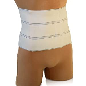 Abdominal Binder Support Post-Operative, Post Pregnancy And Abdominal Injuries. Post-Surgical Abdominal Binder Comfort Belly Binder