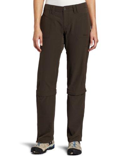 Marmot Women's Lobo's Convertible Sportswear Pant - Mocha Brown, US 6