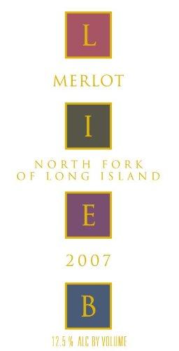 2007 Lieb Cellars North Fork Of Long Island Reserve Merlot 750 Ml
