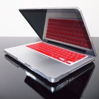 TopCase® RED Keyboard Silicone Cover Skin for