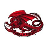 Powell Peralta Skateboard Sticker - Bones Brigade Red Dragon - Official Reissue