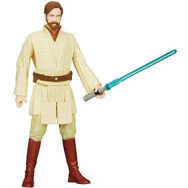 Star Wars Saga Legends 04 - Figurina snodabile di Obi-Wan Kenobi