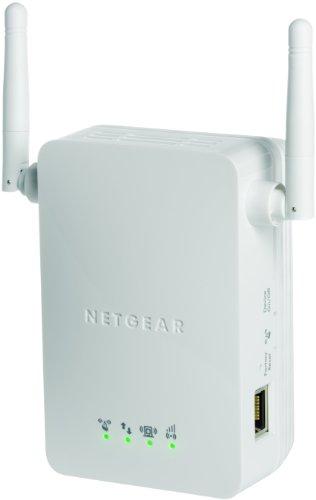 Netgear WN3000RP-100PES Universal WLAN Range Extender (300Mbit/s, LAN Port, WPS), wei�
