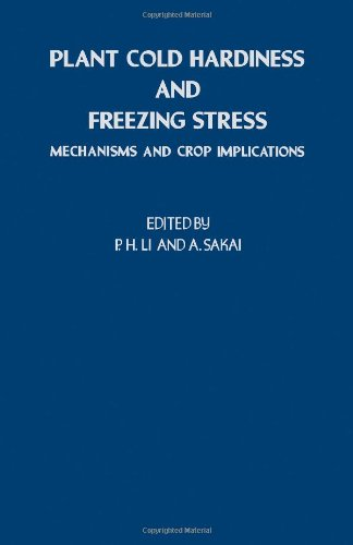 Plant Cold Hardiness And Freezing Stress: V. 1