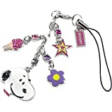 Peanuts Snoopy & Ice Cream Cell Phone Charm OS312