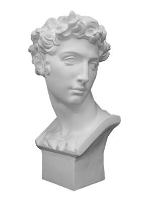 石膏像 ジュリアーノ・メジチ胸像 H.61cm