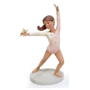 Amazon.com: Enesco Foundations Gymnast Figurine, 5-Inch