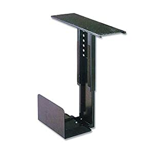 Ziotek Adjustable Under Desk Mount CPU Holder: Computers & Accessories