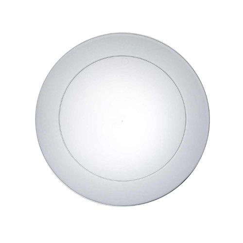 "NorthWest Enterprises N721 Partyware Plastic Round Salad Plate, 7-1/2"" Diameter, Clear (12 Packs of 30) at Sears.com"