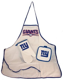 New York Giants NFL Apron Oven Mitt Potholder