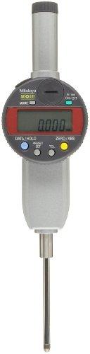 "Mitutoyo 543-487B Absolute Lcd Digimatic Indicator Id-C, Calculation Type, #4-48 Unf Thread, 0.375"" Stem Dia., Flat Back, 0-2"" Range, 0.00001-0.05""/ 0.0002-1Mm Graduation, +/-0.00012"" Accuracy"