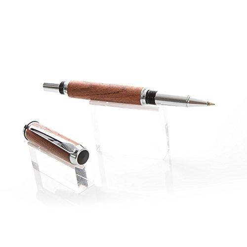 esclusivo-realizzato-a-mano-pezzo-unicopenna-roller-in-legno-d-amaranto-in-una-piccola-manufaktur-ba