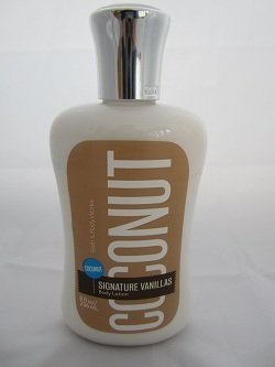Bath Body Works Coconut Vanilla 8.0 oz Body Lotion Body Coconut Vanilla Bath