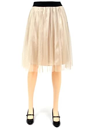 Petticoat Skirt (skirt-002-4) at Amazon Women's Clothing store