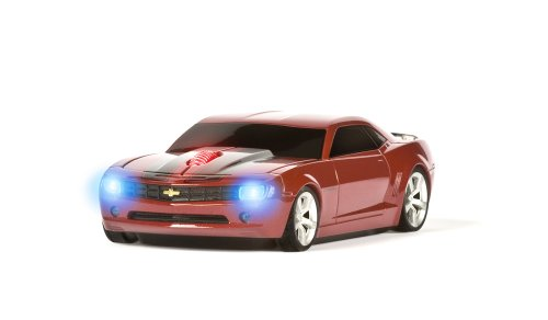 Road Mice Chevy Camaro HP -Wireless Mouse, Red/Black Stripes (HP-11CHCCRXK) (Mouse Camaro compare prices)