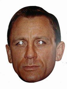 Daniel Craig / James Bond Celebrity Party Mask
