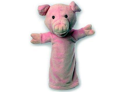 Imagen 1 de - Mangas largas de cerdo mano de marionetas