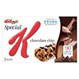 Kellogg's Special K Chocolate Chip Bars 5 X 20G